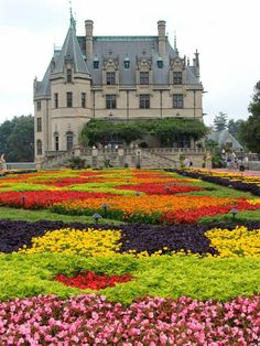The Biltmore Estate Ashville North Carolina.  It is not a castle, but a beautiful large home.  Gorgeous.