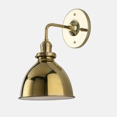 Bathroom Lighting Fixtures Usa isaac sconce brass - short arm | supplies, the study and house