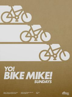 Yo! Bike Mike! Poster by _Untitled-1, via Flickr
