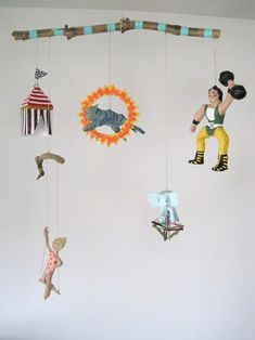 My Owl Barn: Quirky Paper Mache Mobiles by Kim Baise