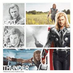 Marvel's The Avengers - Thor: AWESOME! Thor is SO COOL! Sadly, I like Loki just the tiniest bit better. But if I had an older brother, I would SOO TOTALLY want it to be Thor!