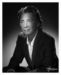 Kenzo Takada, couturier, par Christian Mc Manus photographe, pour les studios Harcourt