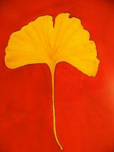Pat Heintzelman Watercolors: Ginko Leaf
