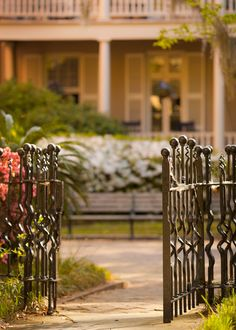 hueandeyephotography: Open Gate, College of Charleston Campus, Charleston, SC© Doug Hickok All Rights Reserved Blur Image Background, Desktop Background Pictures, Love Background Images, Picsart Background, Photo Backgrounds, Blue Backgrounds, Instagram Background, Editing Background, Garden Entrance