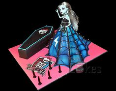 Monster High Tiered Cake — Childrens Birthday Cakes