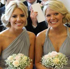 Bridesmaids - again using the gyp and roses