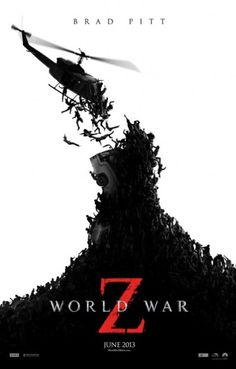 WORLD WAR Z Action/Horror, Rated M, 116 Minutes, Film Code 27834 Starring: Brad Pitt, Mireille Enos, Eric West, James Badge Dale Available 23 October 2013 – Not available for outdoor screenings.