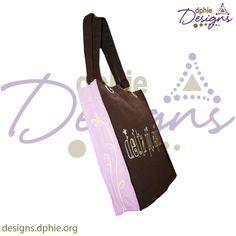 Delta Phi Epsilon Canvas bag!! Great for bid day bags for your chapter!! so cute for any DPhiE!! Available at DPhiE Designs!!