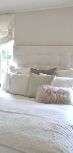 layers of pillows