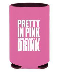 Pretty in Pink Koozie