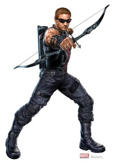 Hawkeye , portrayed by actor Jeremy Renner . Related articles The Avengers' Hawkeye: Not Such a Bad Archer Aft. Marvel Avengers, Avengers Poster, Marvel Comics Superheroes, Avengers Movies, Marvel Heroes, Marvel Movies, Marvel Characters, Fictional Characters, Hawkeye Comic