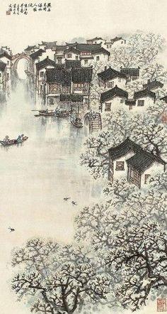 Japanese painting Artist: 宋文治