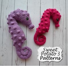 I was so excited to be able to create the new Pygmy Seahorse Pattern. This came as a request from a sweet 2nd grader who was working on an ...