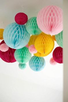 Diy Honeycomb Fish Decorations