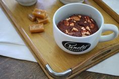 """""""Turtle Brownie in a Cup"""" recipe from pamelasproducts.com"""