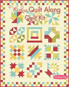 Wishes Quilt Along Quilt Kit Reservation Featuring Wishes by Sweetwater - Fat Quarter Shop