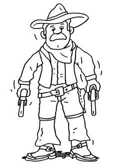 cowboy ausmalbilder – Ausmalbilder für kinder