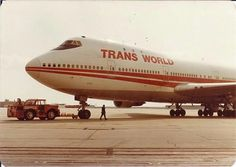 Trans World Airlines (TWA) Boeing 747-131