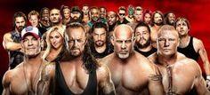 WWE Royal Rumble 2017 Match Result Winner-Goldberg Brock Undertaker