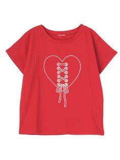 merry jenny メリージェニー公式通販│ランウェイチャンネルハートスピンドルTシャツの詳細情報  RUNWAY channel(ランウェイチャンネル)