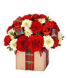 Flowers - Holiday Flower Present - http://flowersnhoney.com/flowers-holiday-flower-present/