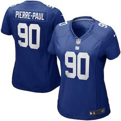 Women s New York Giants Jason Pierre-Paul Nike Blue Limited Jersey Nfl New  York Giants 9fd8e0daa