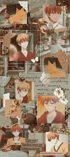 Anime Wallpaper Live, Wallpaper Iphone Cute, Cool Wallpaper, Animes Wallpapers, Cute Wallpapers, Fruits Basket Manga, Cute Anime Character, Aesthetic Anime, Kawaii Anime