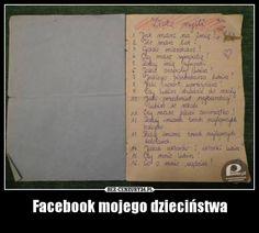 facebook of my childhood
