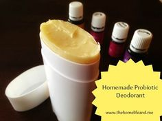 This Homemade Probiotic Deodorant is a natural, high-quality, gentle-to-the-skin, cost-friendly deodorant solution!