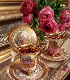 Raindrops and Roses Good Morning Coffee, Coffee Time, Tea Time, Coffee Cups, Tea Cups, Coffee Flower, Raindrops And Roses, Coffee Images, Tea Culture