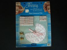 VINTAGE TRESSY HAIR GLAMOUR PAK - SEALED - #1268 AMERICAN CHARACTER - NOS