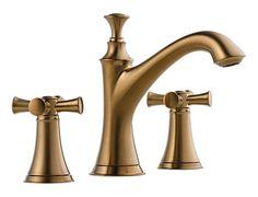 Two Handle Widespread Lavatory Faucet - Less Handles : 65305LF-BZLHP HX505-BZ : Baliza : bath : Brizo
