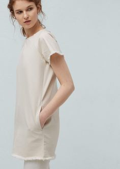 Pocket denim dress -  Women | MANGO USA