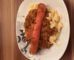 Rezept Linsen mit Saitenwürschtle und Bauchspeck nach Manu's Art von LimaLoca - Rezept der Kategorie Hauptgerichte mit Fleisch