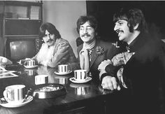 The Beatles - Always time for a cup of tea...