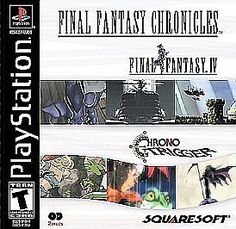 FINAL FANTASY CHRONICLES PLAYSTATION 2 DISC SET IN CASE