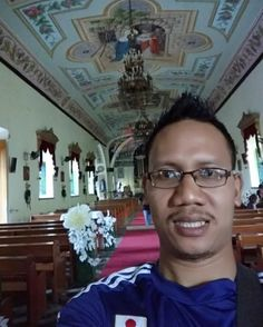 Selfie at old church Naga City  My adventure journey to Ben's Wedding at Nabua City Philippine. 7 days in starting in Manila then went to Naga City by bus almost 11 hours. Then from from Naga city to Nabua by Motorcycle. After 4 days in Nabua fly to Manila by Cabu Pacific and stay in Manila for 2 days.  #muizwanderlust  #malaysiabackpackers #akupergi #travelblogger #traveller #backpacker #youthactivist  #volunteer #neverstopexploring #pin(hanya utk backpacking/travel) #travel #instatravel…