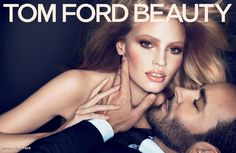 I love all the Tom Ford Beauty Ads with Lara Stone