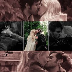 Gif Colin O'Donoghue -Killian Jones - Captain Hook -Jennifer Morrison - Emma…