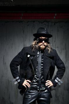 Black Belted Jacket