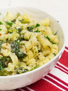 pasta with brocolli rabe