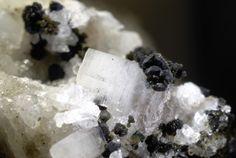 Vaterite et Calcite.  Hopffeldboden, Obersulzbachtal FOV=9 mm Photo pikosteine