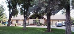 A fine home on  almost an acre, in a well established neighborhood.