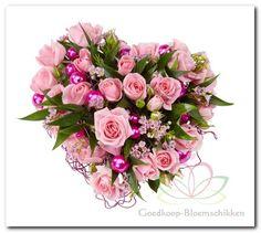 Valentijn bloemschikken met Oasis