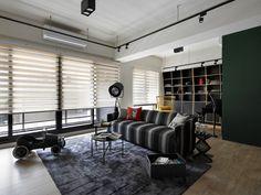 O camera de zi cu un decor ca o opera de arta. #decorinterior, #amenajariinterioare