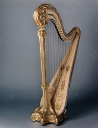 Someday......someday I will learn to play the harp! Maybe I've watched to many Jane Austen movies....but it's on the list.