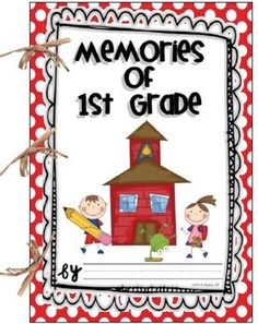 FREE Memory Book for 1st grade