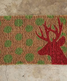 Natural Deer Coir Doormat