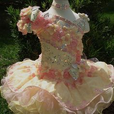 National Glitz Pageant Dress Custom Order by Nana Marie Designs Pagent Dresses For Kids, Pageant Dresses For Women, Pageant Girls, Little Girl Dresses, Girls Dresses, Toddler Pageant, Party Dresses, Glitz Pageant, Pageant Wear