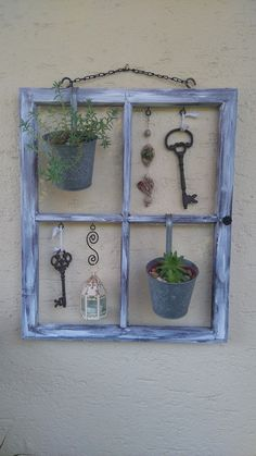 alter fensterrahmen ideas diy pinterest shabby recycled windows and craft. Black Bedroom Furniture Sets. Home Design Ideas